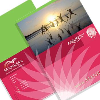 print design conference a4 folder