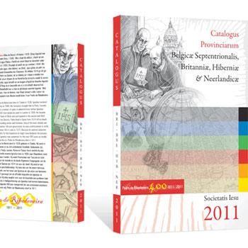 book print design irish jesuit catalogue